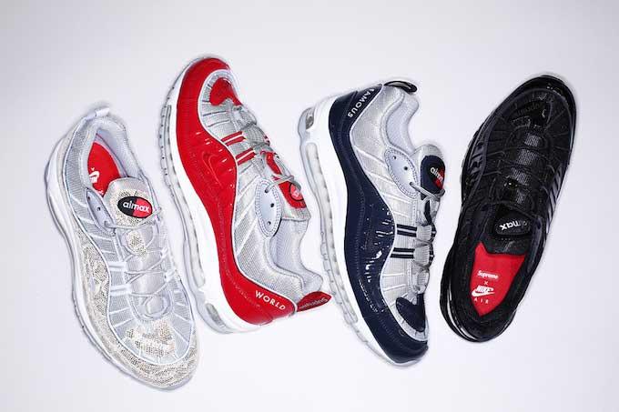 Supreme x Nike Air Max 98 画像