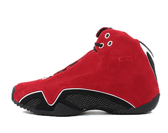 ジョーダン18 RED SUEDE 画像