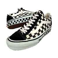 バンズ OLD SKOOL LX CHECKERBOARD made in USA 画像