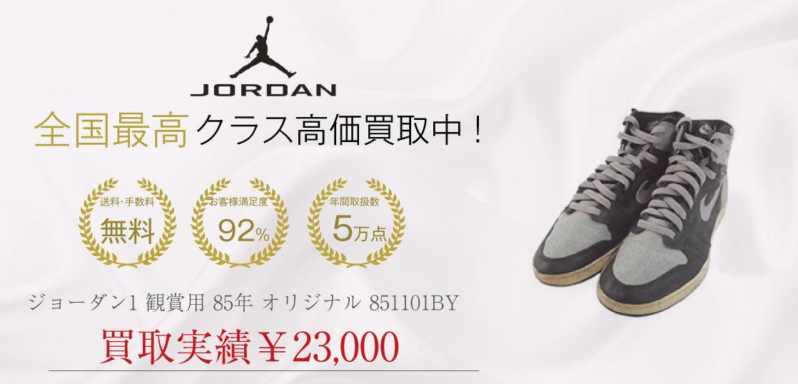 AIR JORDAN 1 観賞用 85年 オリジナル 851101BY 画像