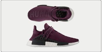 PW Human Race NMD noble crimson 画像