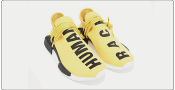 PW Human Race NMD yellow 画像