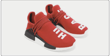 PW Human Race NMD red 画像